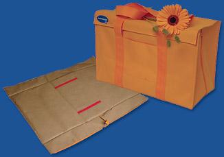 Оранжевая сумка-трансформер: Все необходимое для Вас в роддоме и после!